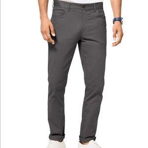 Michael Kors Men's Parker Slim-Fit Pants - Gray